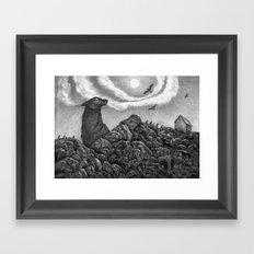 North Framed Art Print