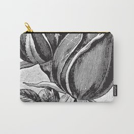 Vintage Rose Buds Carry-All Pouch