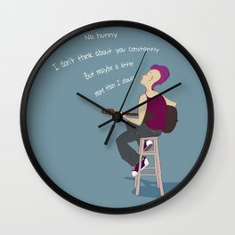 No Hunny Wall Clock