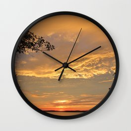 A Beautiful Close Wall Clock