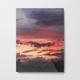 Sunrise Sherbet Metal Print