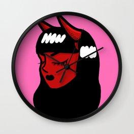"""Hell Girl"" Wall Clock"