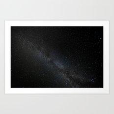 Milky Way Galaxy Art Print