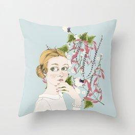 Elviras Throw Pillow