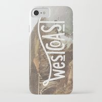 west coast iPhone & iPod Cases featuring West Coast by cabin supply co