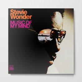 Music of My Mind is the fourteenth studio album by American soul musician Stevie Wonder Metal Print