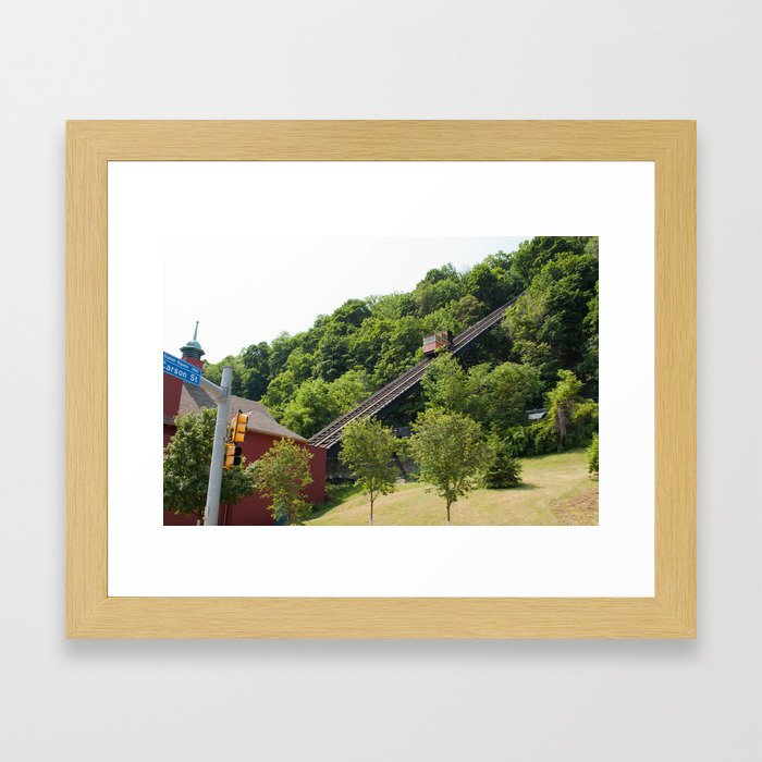 Monogahela Incline Framed Art Print
