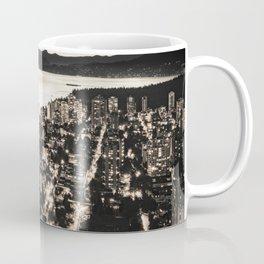 Voyeuristic 1378 Vancouver Cityscape English Bay Twilight Coffee Mug