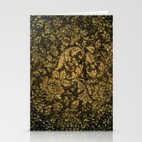 damask Stationery Cards featuring Decorative damask by nicky2342