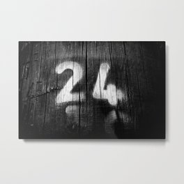 two four post Metal Print