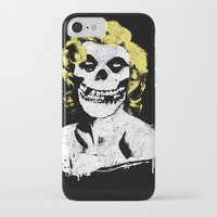 misfits iPhone & iPod Cases featuring Misfits Monroe by AtomicChild