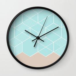 SORBETEMINT Wall Clock
