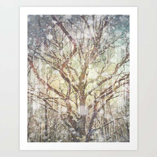The Christmas Tree Art Print