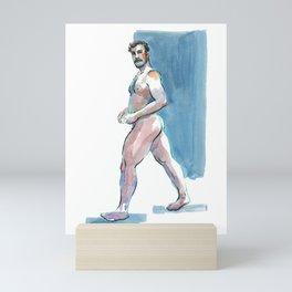 DAN, Nude Maleby Frank-Joseph Mini Art Print