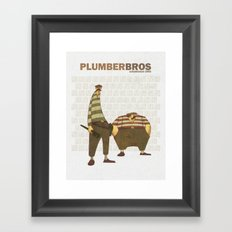 Plumber Bros. Framed Art Print