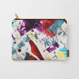 Funky painted mess Carry-All Pouch