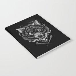 Dark Wolf Notebook