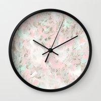 romance Wall Clocks featuring romance by Georgiana Paraschiv