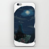 cookie monster iPhone & iPod Skins featuring Cookie monster by David Pavon