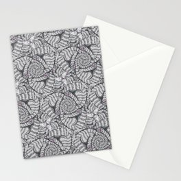 Aloof, a Cat Tessellation Stationery Cards