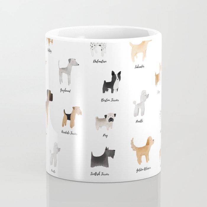 Lots of Cute Doggos - With Names Coffee Mug