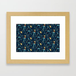 Haunted Forest Framed Art Print