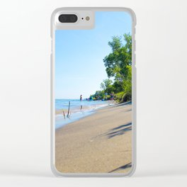 Days of Summer Beach Edition Clear iPhone Case