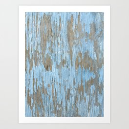 Dystopia: Chipped Paint Art Print