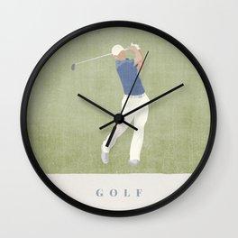 SUMMER GAMES / Golf Wall Clock