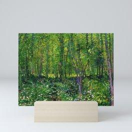 Vincent Van Gogh Trees and Undergrowth 1887 Mini Art Print