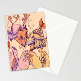 Love On Empty Stomachs Stationery Cards