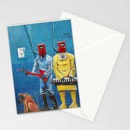 street art men 6 Stationery Cards
