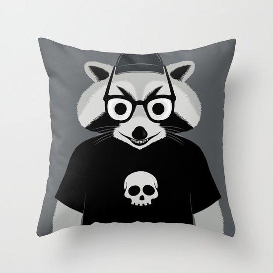 raccool Throw Pillow
