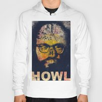 howl Hoodies featuring Howl by Alec Goss