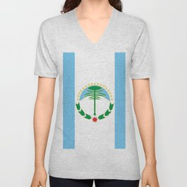 flag of Neuquen Unisex V-Neck