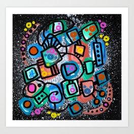 """""""Quiet Mind"""" Art Print"""