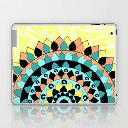 Floral mandala Laptop & iPad Skin