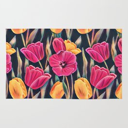 Tulips in the Spring Rug