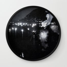 Light Lake Wall Clock
