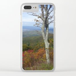 Shenandoah in Fall Clear iPhone Case