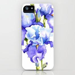 Spring Irises iPhone Case