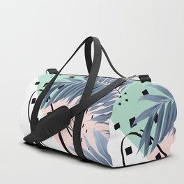 Summer Palms Cali Vibes Abstract Glam #1 #tropical #decor #art #society6 Duffle Bag
