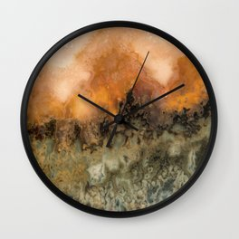 Idaho Gem Stone 18 Wall Clock