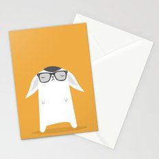 Hipster Bunny Stationery Cards