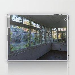 Colourful Overgrown Greenhouse Laptop & iPad Skin