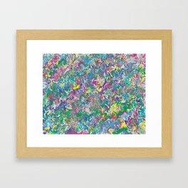 Memories of Delight Marble Framed Art Print