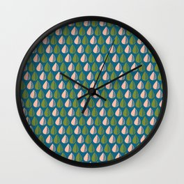 Watermelon Raindrop Wall Clock