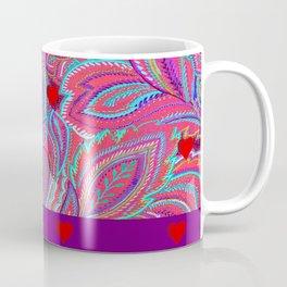 paisley heart  Coffee Mug