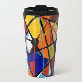 Lines and Circles Travel Mug