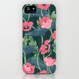 Barracuda - Midnight version iPhone Case